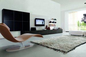 Черная гостиная глянец Бьорк - Мебельная фабрика «Триана»