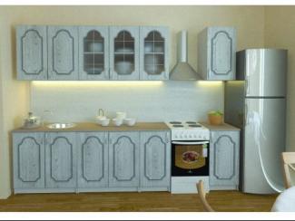 Кухонный гарнитур прямой Бьянка - Мебельная фабрика «Альбина»