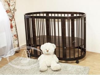 Детская кроватка Паулина С 321 - Мебельная фабрика «Красная звезда»