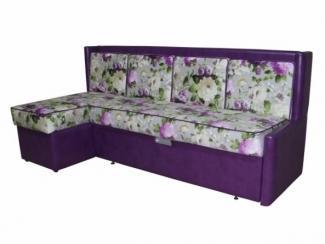 Уголок кухонный в фиолетовом цвете Прованс