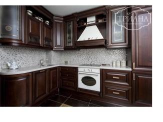 Кухонный гарнитур угловой классика  Бридж - Мебельная фабрика «Триана»