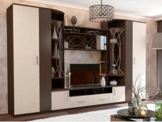 Высокая гостиная с 2 шкафами Атланта  - Мебельная фабрика «Фран»