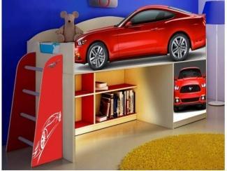 Детская кровать  Форд мустанга модель 1 - Мебельная фабрика «ПМК ВиП»
