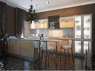 Кухня из пластика ПЛ-8 - Мебельная фабрика «Леспром»