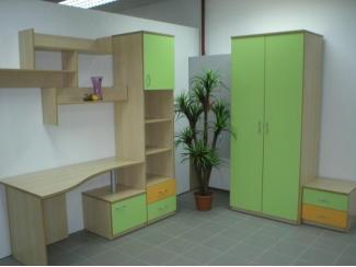 Детский зеленый гарнитур - Изготовление мебели на заказ «Fishburg»