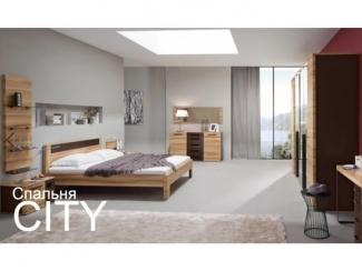 Спальня CITY - Мебельная фабрика «Дятьково»