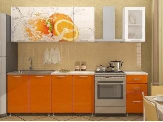 Кухня с фотопечатью Апельсин  - Мебельная фабрика «Disavi»