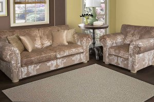 Диван прямой Даллас с креслом - Мебельная фабрика «Атриум-мебель»