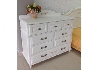 Красивый белый комод - Мебельная фабрика «ОСТА»