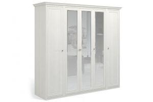 Шкаф пятидверный Рапсодия с тремя зеркалами  - Мебельная фабрика «Мебель-Москва»