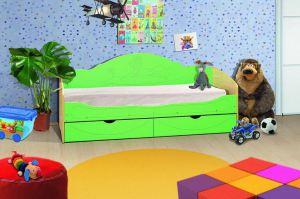 Детская кровать Софа 5 - Мебельная фабрика «Аристократ»