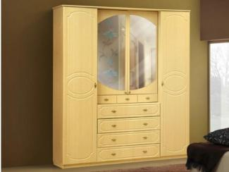 Шкаф 4-х дверный - Мебельная фабрика «Аджио»