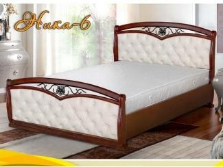 Кровать в спальню Ника 6 - Мебельная фабрика «НИКА»