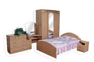 Спальный гарнитур Мессолина 1 - Мебельная фабрика «ЛТиК»
