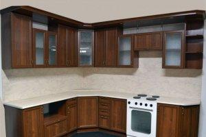 Угловая кухня с полками Глория - Мебельная фабрика «Фалькон»