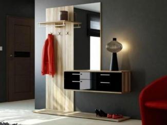 Прихожая прямая черный глянец - Изготовление мебели на заказ «Мега»