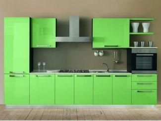 Зеленая кухня AMBRA - Мебельная фабрика «Европлак», г. Подольск