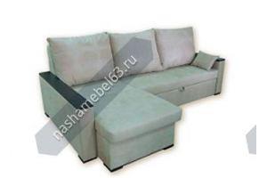 Угловой диван Дипломат с оттоманкой - Мебельная фабрика «Наша мебель»