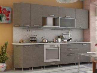 Кухня прямая Азалия комплектация 3 - Мебельная фабрика «Алсо»