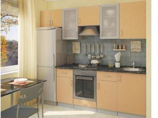Кухонный гарнитур прямой Пшеница - Мебельная фабрика «Спутник»