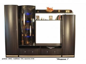 Новая гостиная Модена 1 - Мебельная фабрика «Веста»