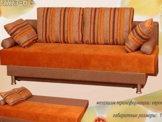 Диван прямой Блюз 6 - Мебельная фабрика «Росмебель»