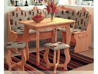 Кухонный уголок «Новый резной» - Мебельная фабрика «Каприз»