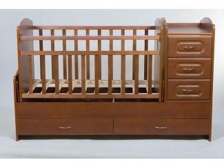 Детская кроватка КТМ-МДФ - Мебельная фабрика «Папа Карло»