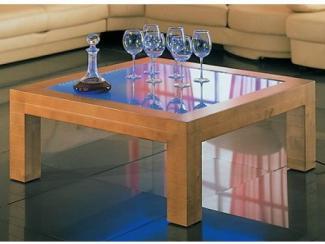 Журнальный стол со светодиодной подсветкой СТО 37 - Мебельная фабрика «Калинка»