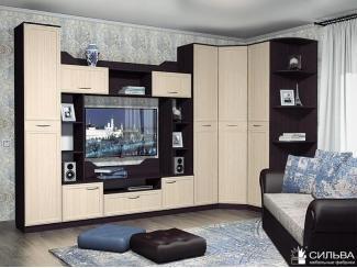 Гостиная Браво с угловым шкафом - Мебельная фабрика «Сильва»
