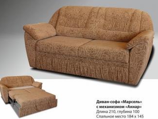 Диван-софа прямой Марсель с механизмом анкар - Мебельная фабрика «Надежда»