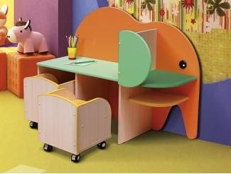 Стол детский Слон  - Мебельная фабрика «Натали»