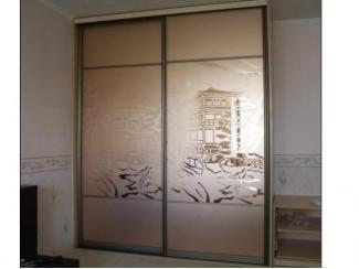 Шкаф-купе с рисунком  - Мебельная фабрика «Перспектива»