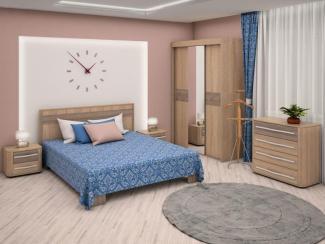 Спальный гарнитур Корвет - Мебельная фабрика «Радо»