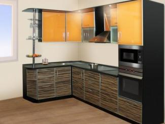 Кухонный гарнитур угловой Тороно - Мебельная фабрика «Градиент-мебель»