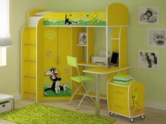 Детская комбинированная Цыпленок и кот - Мебельная фабрика «Ивушка»