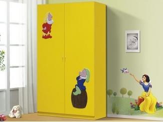 Желтый шкаф Гном  - Мебельная фабрика «Натали»