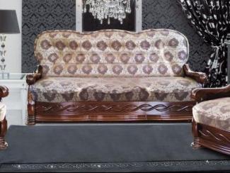 диван прямой Алина 09 дельфин - Мебельная фабрика «Алина-мебель»