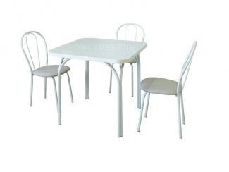 Стол с пластиковой столешницей  - Мебельная фабрика «Омскмебель»