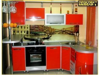 Яркая угловая кухня  - Мебельная фабрика «Проспект мебели»