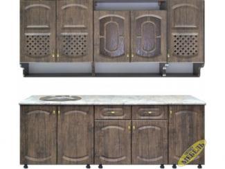 Кухня прямая 86 МДФ - Мебельная фабрика «Трио мебель»