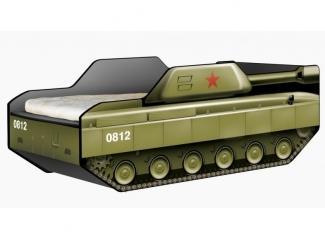Детская кровать-Танк Патриот - Мебельная фабрика «КАРоБАС»