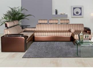 Диван угловой «Прадо Хром XXL» - Мебельная фабрика «Палитра»