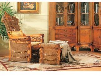 Кресло мебель из ротанга
