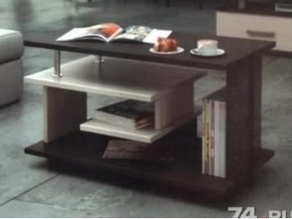 стол журнальный 2 цвета №6 - Изготовление мебели на заказ «Мебель для вашего дома»