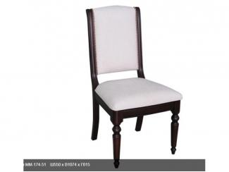 Белый стул ММ-174-51 - Мебельная фабрика «Молодечномебель»