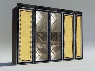 Дизайнерский шкаф с зеркалами - Мебельная фабрика «Максик»