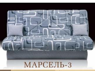 Серый диван без подлокотников  - Мебельная фабрика «Альянс-М»