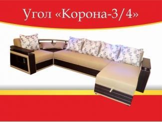 Угловой диван Корона-3/4 - Мебельная фабрика «Корона»