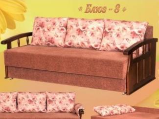 Диван прямой Блюз 8 Еврокнижка - Мебельная фабрика «Росмебель»